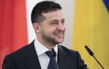 """Зеленский ответил критикам: """"Мост в Станице открыли раньше срока, танк по нему не проедет"""""""