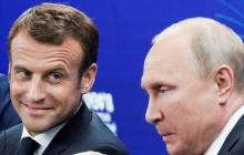 """Путин """"поплакался"""" Макрону на Украину: чем закончился телефонный разговор"""