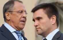 Павел Климкин провел телефонные переговоры с Сергеем Лавровым, по ключевым вопросам
