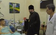 Епифаний показал, каким должен быть украинский православный иерарх: обычный визит к раненым на Донбассе Героям - видео
