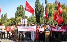 """""""Путин и Медведев - враги народа"""", - в Крыму сотни возмущенных людей протестуют против пенсионной реформы, кадры"""