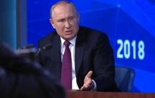 Позавидовал США и пригрозил Украине: итоги скандальной пресс-конференции Путина