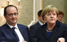 Олланд и Меркель возложили ответственность за ракетную атаку США по военной базе Сирии на Асада