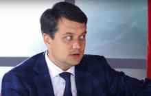 """Глава """"Слуги народа"""" Разумков рассказал о новом составе коалиции в Верховной Раде"""