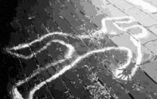 Камера наружного наблюдения случайно зафиксировала бесчеловечное убийство ревнивым дагестанцем своей девушки. Кадры