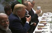 Путин на ужине G20 в Осаке поразил мир выходкой - президент РФ показал, что напуган до смерти