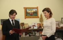 Марину Порошенко единогласно избрали руководителем Украинского культурного фонда