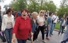 """Соцсети поразил """"Бессмертный полк"""" в Одессе: активист показал истинное лицо одесских любителей России"""