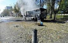 Боевые действия в Донецке 10.10. Хроника событий - Фото и видео репортажи