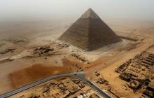 Странные иероглифы и неизвестное существо: археологи об уникальных находках в пирамиде Хеопса