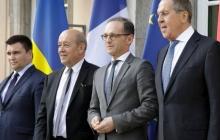 """Лавров на встрече """"Нормандской четверки"""" склонял Киев превратить Донбасс в Чечню"""