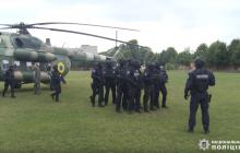 Вертолет спецназа срочно вылетел в 64-й округ, где баллотируется Пашинский: видео
