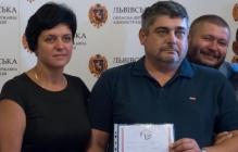 """На Львовщине подарили  квартиру бойцу """"Айдара""""  луганчанину"""