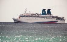 Позор российского флота: лайнер Путина не сумел зайти в Ялтинский порт - видео курьеза
