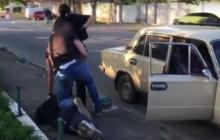 Как задерживали киллеров, пытавшихся убить одесского адвоката. Видео
