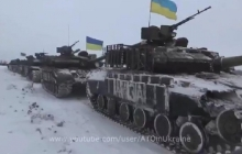 Танковый прорыв ВСУ при поддержке авиации: силы ООС показали сокрушительный удар по обороне россиян на Донбассе