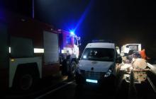 Автобус Херсон - Москва разбился на Черниговщине - трое пассажиров погибли, 15 ранены