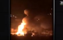 Серия мощных взрывов прошла в Кропивницком - десятки пострадавших авто: видео