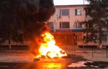 На Херсонщине в городе Каховке жители подняли бунт против полиции, требуя справедливости: детали