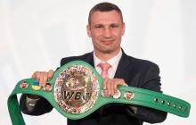 Чемпионский пояс с украинским флагом: WBC представили новый пояс чемпиона мира по боксу - кадры
