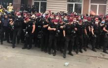 Суд над Стерненко: между полицией и активистами вновь произошли стычки, есть задержанные
