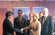 Появились новые подробности со встречи Тимошенко и Пучдемона
