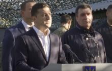 Зеленский выступил с сильной речью на Донбассе в День защитника Украины