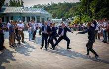 У Зеленского лучшая охрана: на чемпионате мира служба безопасности показала класс