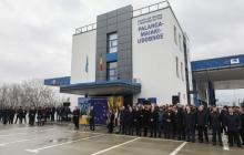 Порошенко и Филип открыли совместный пункт пропуска на границе между Украиной и Молдовой
