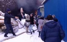 В Черновцах несколько часов горит крупнейший рынок Западной Украины: убытки уже на десятки миллионов гривен – все подробности и первые кадры