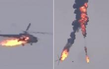 """Турция сбила вертолет """"Ми-17"""" в Сирии: машина взорвалась и сгорела прямо в воздухе - видео"""