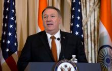 Госсекретарь США Помпео летит на встречу с Зеленским
