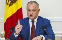 Президент Молдовы Додон рассказал, почему не хочет ехать в Киев