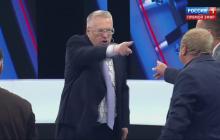 Жириновский чуть не сорвал эфир Скабеевой истерикой из-за Украины: пропагандисты не смогли успокоить скандалиста