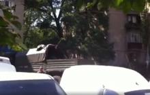 Появилось видео обстрелов в Шахтерске, жители свидетельствуют о военных преступлениях оккупантов - кадры