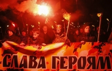 76-летие УПА Киев празднует зрелищным маршем - онлайн-трансляция