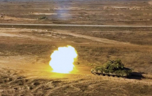 """""""Танковая карусель"""" в исполнении ВСУ: отработан новый прием ведения танкового боя, видео"""