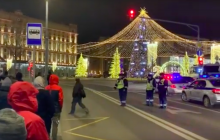 Пока Путин поздравлял ФСБ в Кремле, штаб-квартиру спецслужбы атаковали: есть погибшие