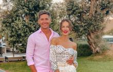 Невеста Остапчука Кристина Горняк удивила смелым подвенечным платьем на свадьбе