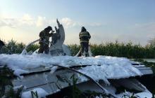 Самолет по пути в Крым рухнул на кукурузное поле под Москвой, много пострадавших - подробности