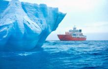 В Антарктиде откололся гигантский айсберг: Всем судам в океане грозит опасность