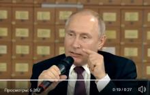 Путин рассказал, что Россия хотела доказать всему миру оккупацией Крыма: видео разозлило даже россиян
