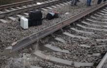 В Луганской области взорвана ж/д дорога, по которой доставляют уголь на Углегорскою ТЭС