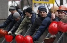 Шахтеры Димитрова ходили к губернатору Кихтенко за зарплатой