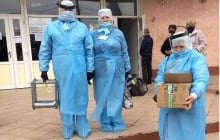 Местные выборы в Украине: как голосовали украинцы, заболевшие коронавирусом