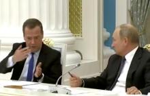 Сполз в кресле: соцсети заподозрили Путина в проблемах со здоровьем из-за нового фото