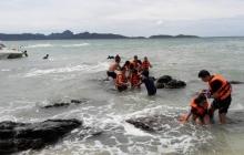 В результате крушения катера с туристами в Таиланде без вести пропало двое россиян