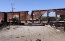 """Террористы обстреляли из артиллерии поезд """"Укрзализныци"""" на Донетчине"""