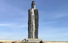 Украинский памятник пастуху вошел в Книгу рекордов Гиннесса: в Одесской области установлен самый большой монумент овцевода - кадры
