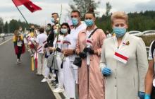 Жители Литвы в поддержку белорусов выстроятся в живую цепь до пограничного пункта на границе с Беларусью